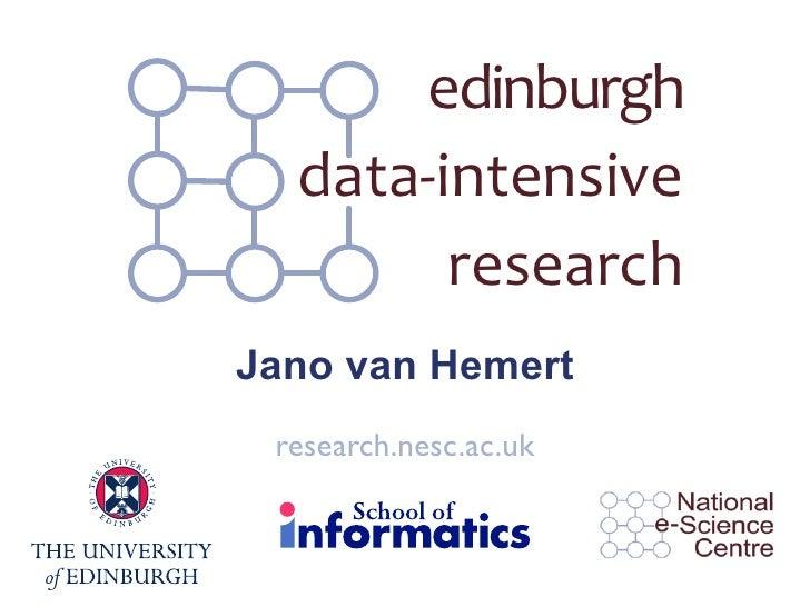 Data-Intensive Research