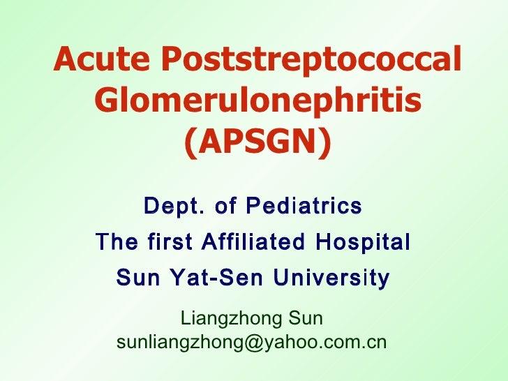 20100603 acute glomerulonephritis