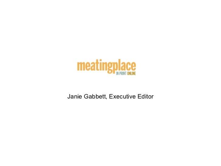 Janie Gabbett, Executive Editor