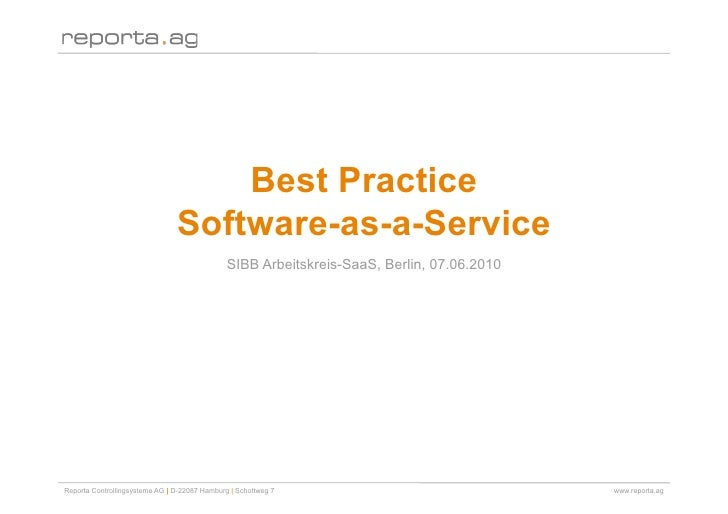 Best Practice                                 Software-as-a-Service                                                SIBB Ar...