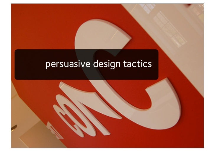 Lectric persuasion