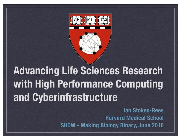 Advancing Life Sciences Research with High Performance Computing and Cyberinfrastructure                                  ...