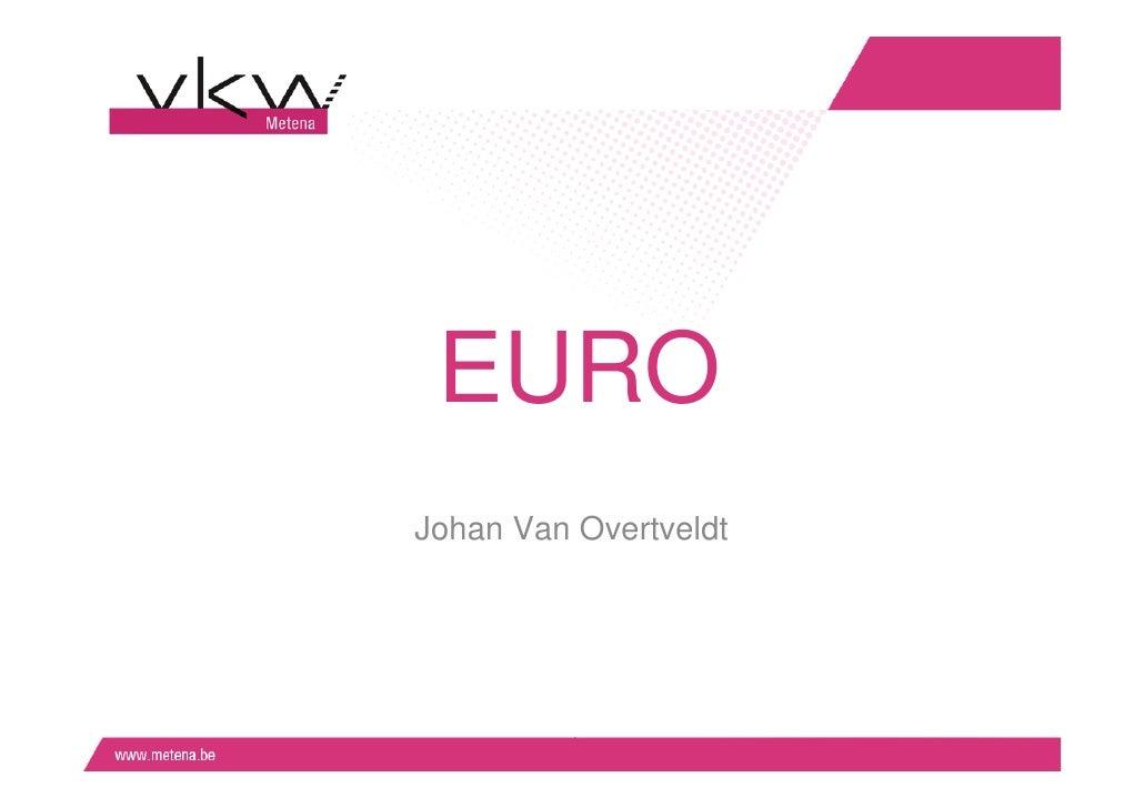 Toekomst van de euro