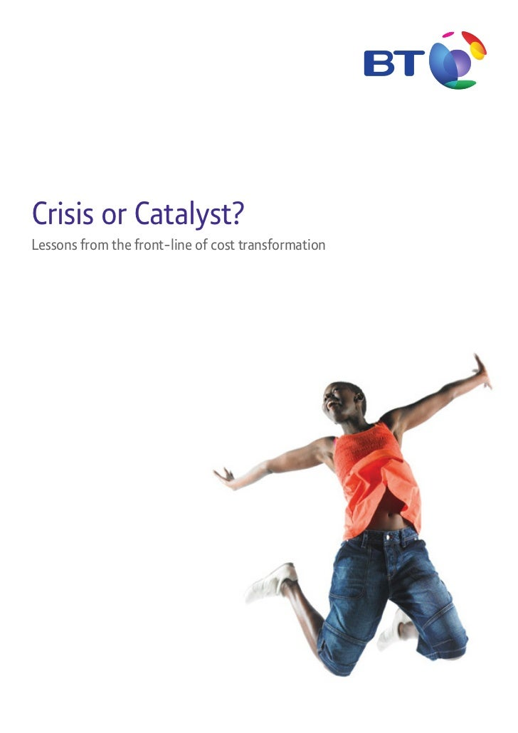 Crisis or Catalyst?Lessons from the front-line of cost transformation