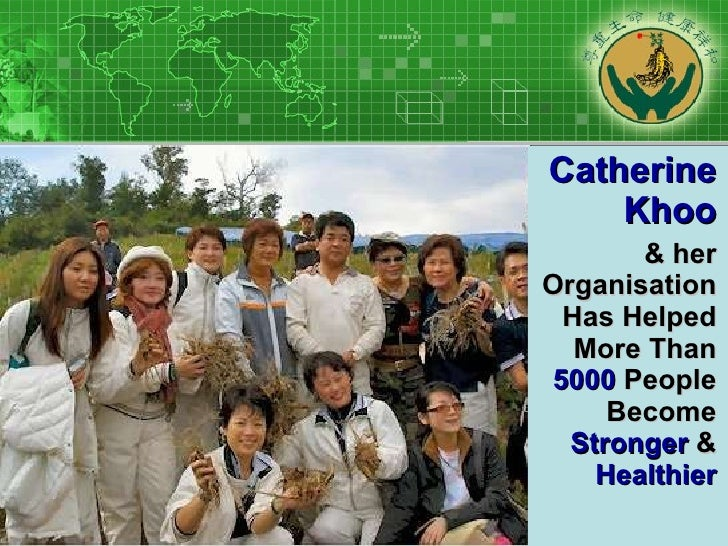 Catherine Khoo & her Organisation Has Helped More Than  5000  People Become  Stronger  &  Healthier