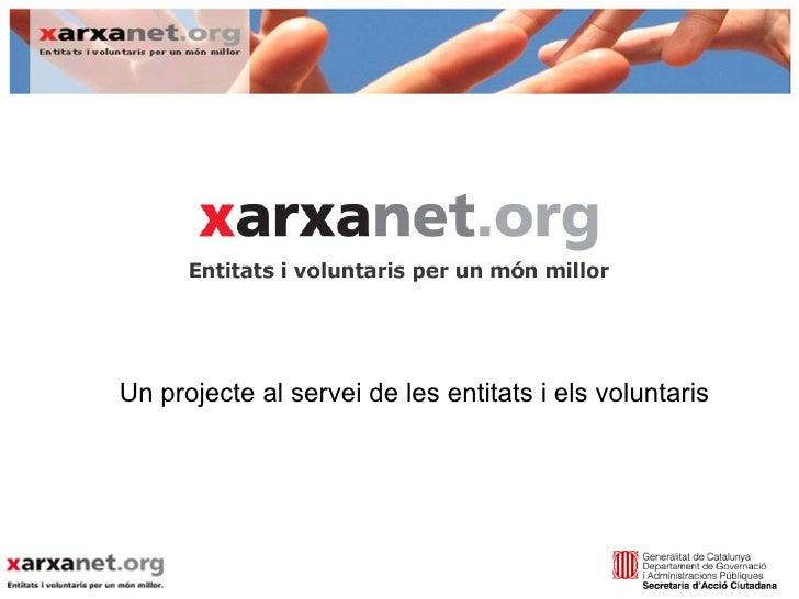 Presentacio Serveis Xarxanet