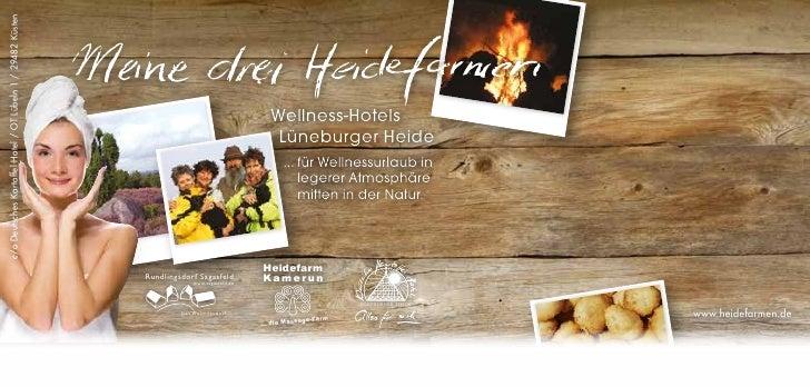 Heidefarmen Rundbrief für Wellnessurlaub in der Lüneburger Heide