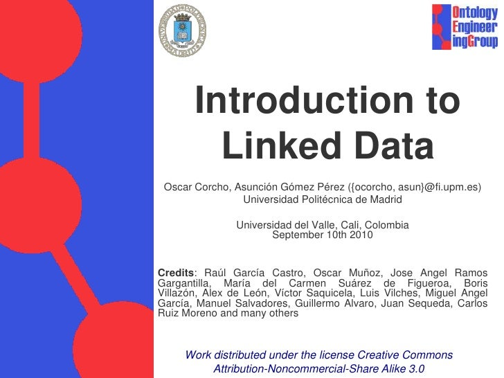 Introduction to Linked Data