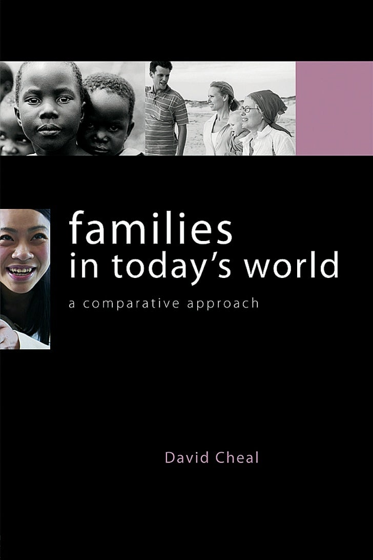 Families in Today's WorldFamilies in Today's World is an international textbook providing a quickintroduction for students...
