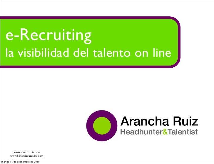 E-Recruiting: nuevas formas de captar talento