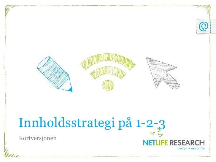 2010 10 14 Innholdsstrategi