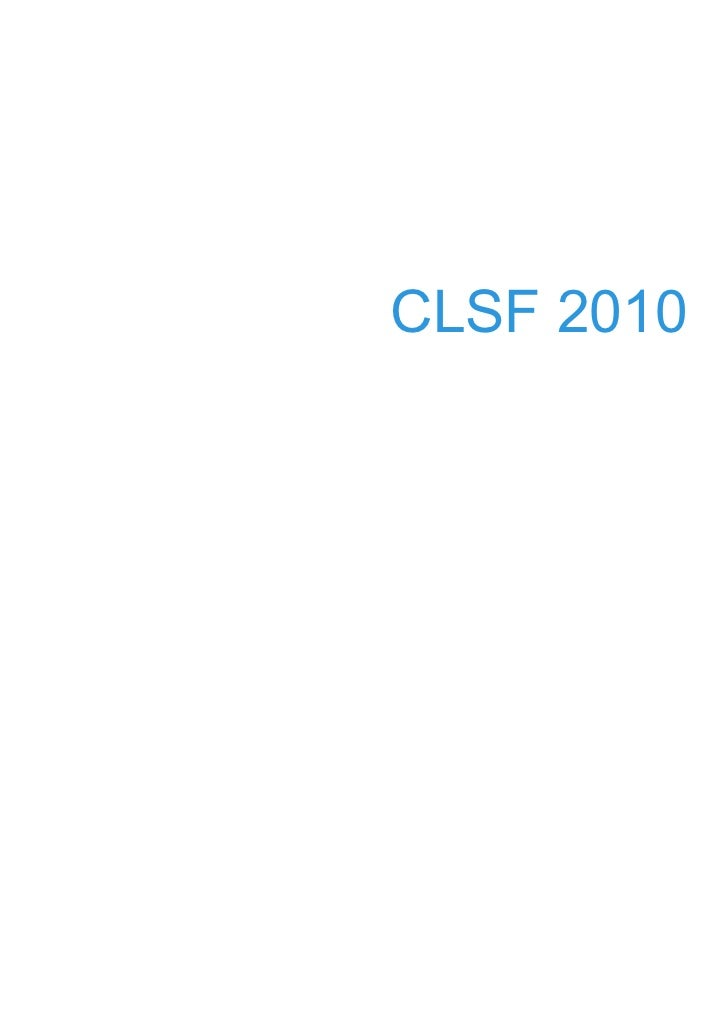 CLSF 2010            1