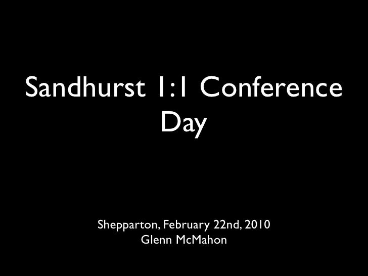 2010 Feb 1:1 Conference Day