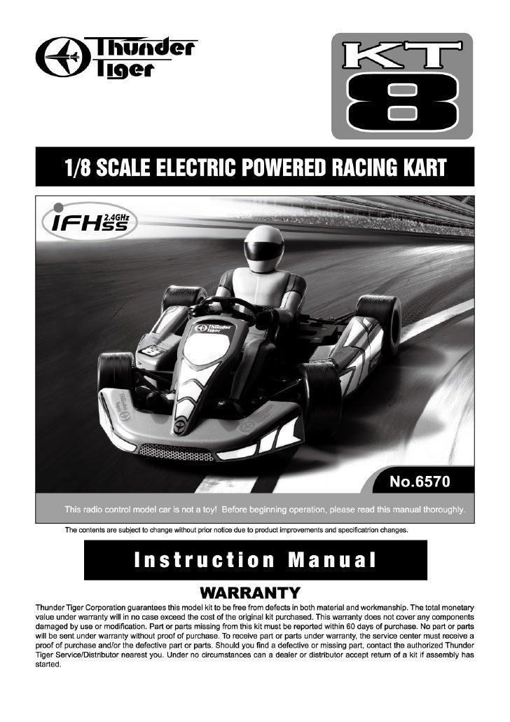 Manuale Kart KT8