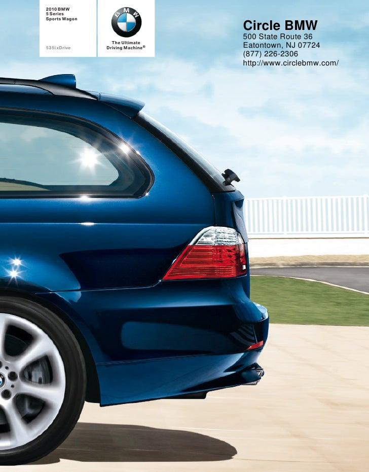 2010 BMW 5 Series Sports Wagon Circle BMW NJ