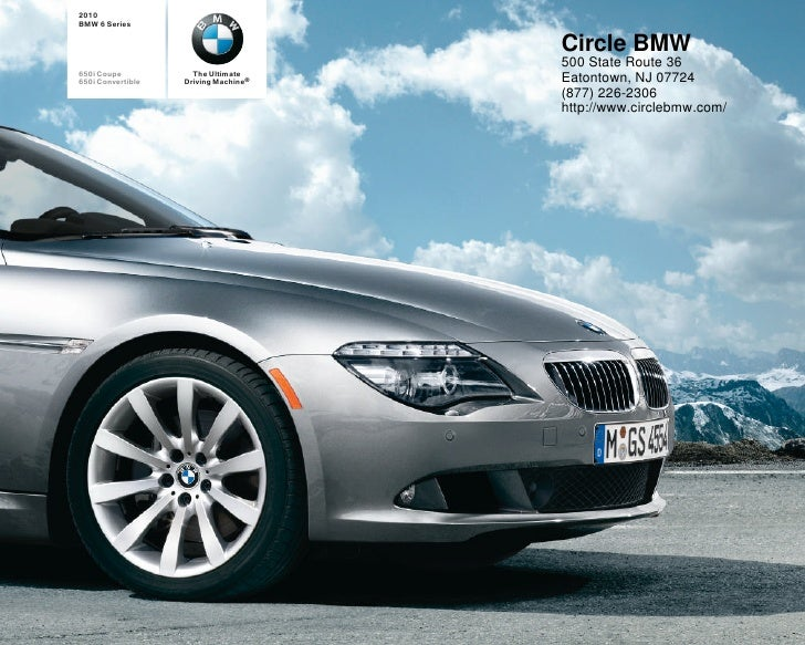 2010 BMW 6 Series Circle BMW NJ