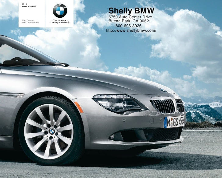 2010 Shelly BMW 650i Convertible Los Angeles CA