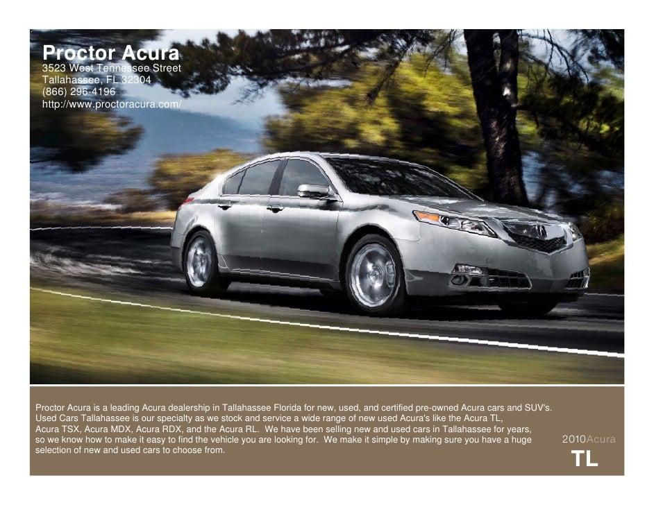 2010 Acura TL Tallahassee FL