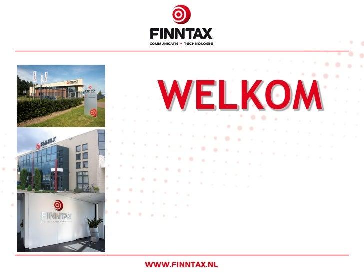 2010 Algemene Presentatie Finntax 2010