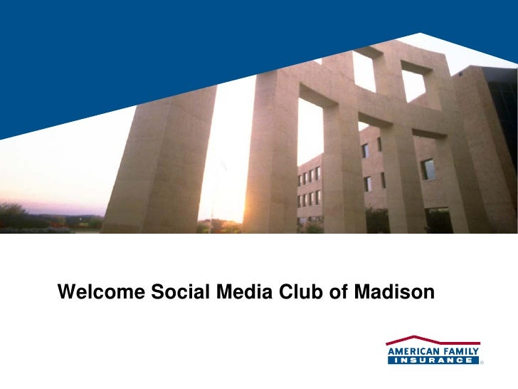 Welcome Social Media Club of Madison