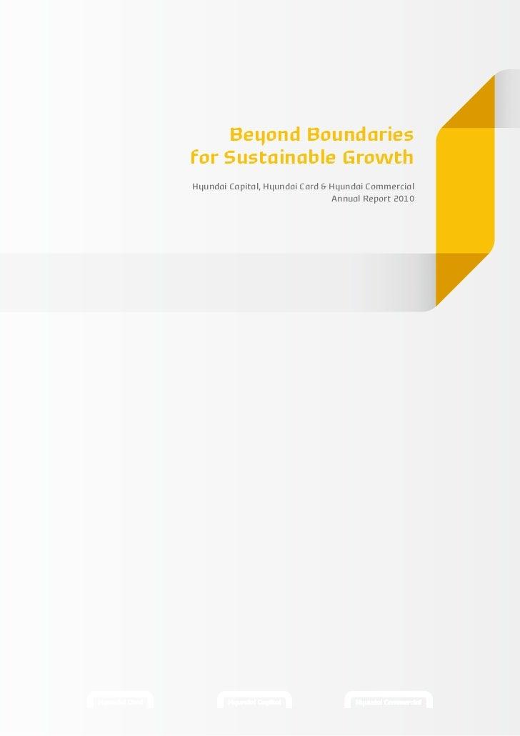 Beyond Boundariesfor Sustainable GrowthHyundai Capital, Hyundai Card & Hyundai Commercial                                A...