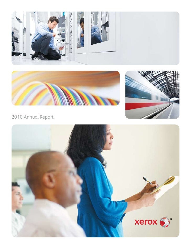 2010 annual report, xeroks