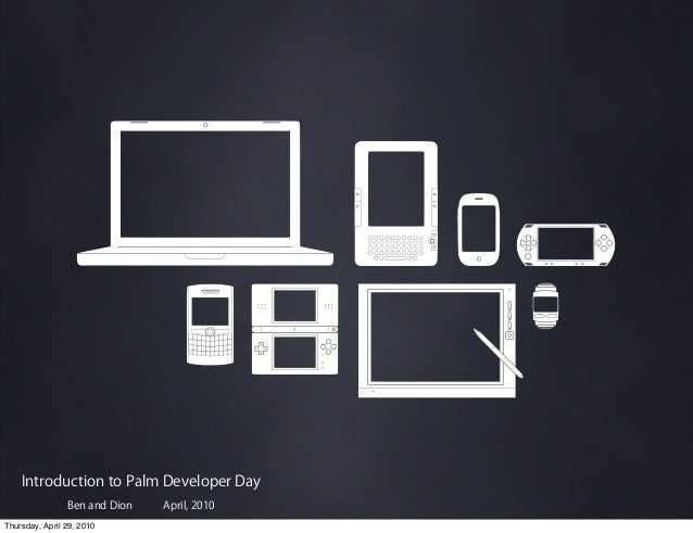 Palm Developer Day: Opening Keynote