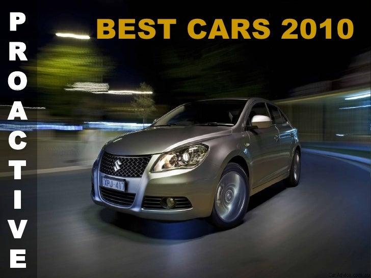 BEST CARS 2010  P R O A C T I V E