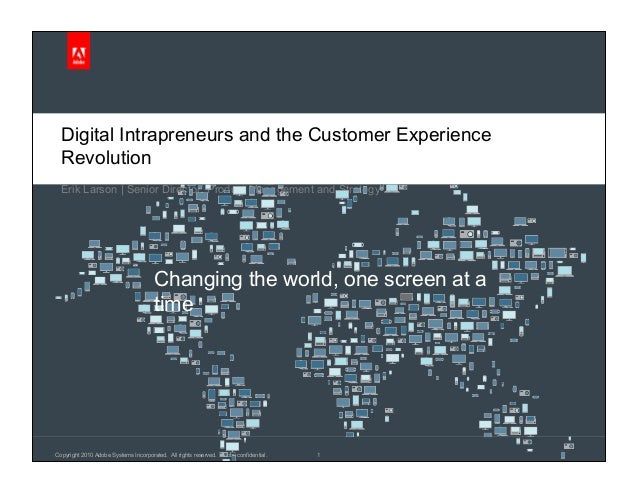 Adobe: Intrapreneurs and the Digital Customer Experience