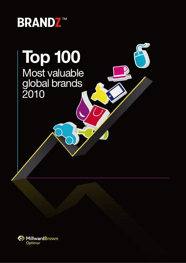 2010 Top100 Brands Milward Brown