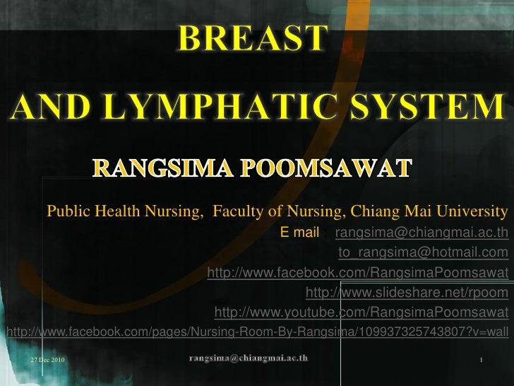 Public Health Nursing, Faculty of Nursing, Chiang Mai University                                          E mail : rangsim...