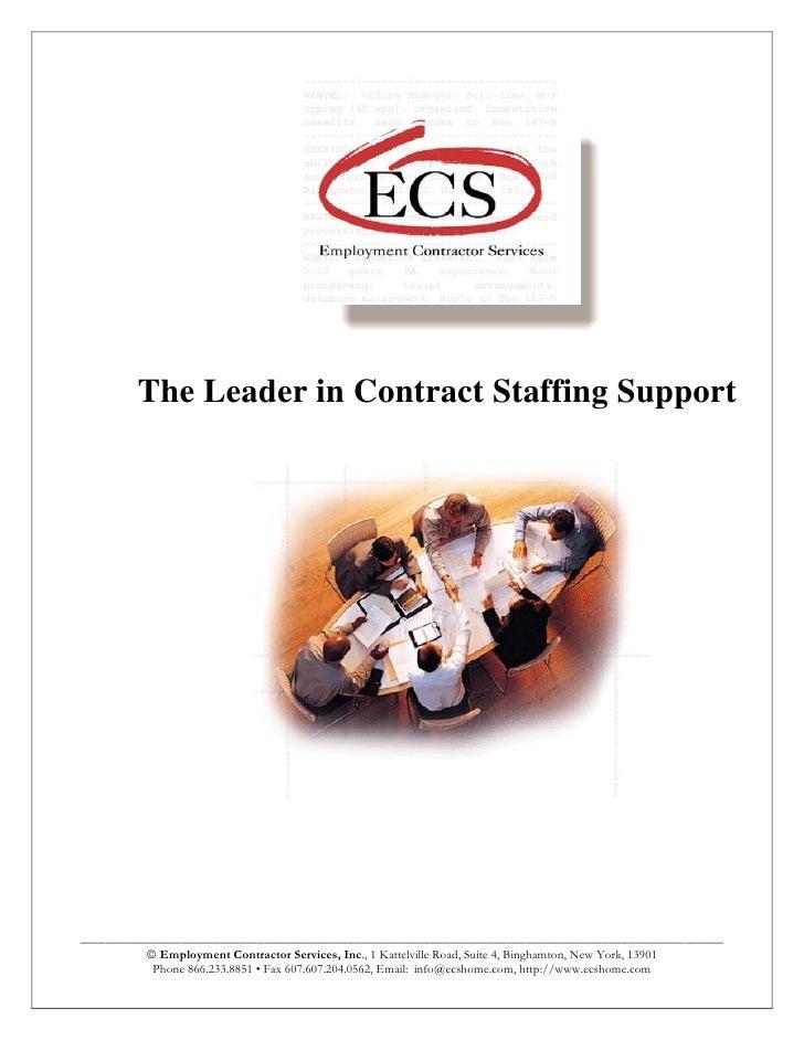 2010 Recruiters Brochure