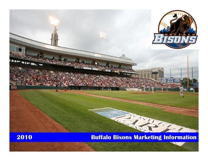 2010 Buffalo Bisons Marketing Kit
