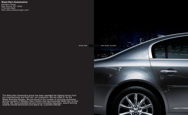 2010 Buick Lucerne Buffalo