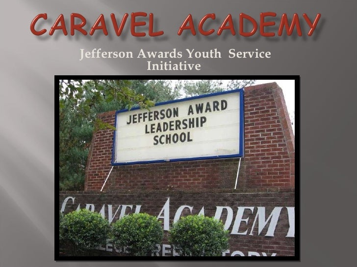 Jefferson Awards Youth  Service Initiative
