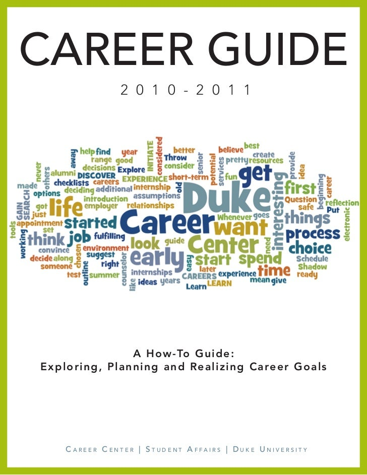 Duke Career Guide