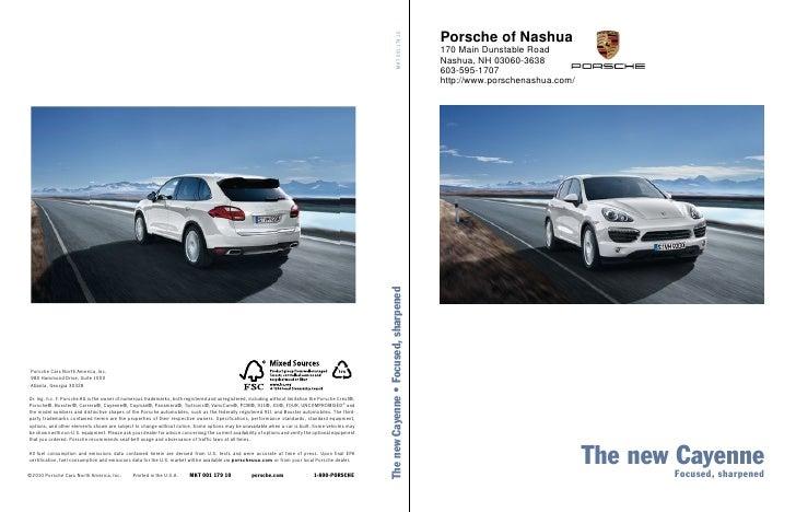 2010 Porsche Cayenne Porsche of Nashua NH