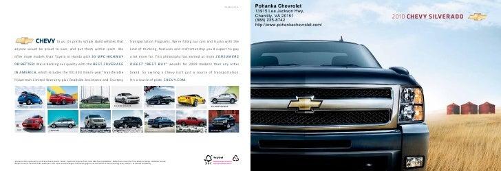 2010 Chevrolet Silverado Pohanka Chevrolet  Chantilly VA