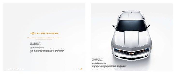 2010 Chevy Camaro in Eden Prairie, MN