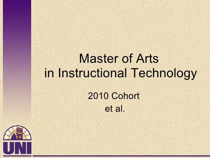 2010 cohort intro
