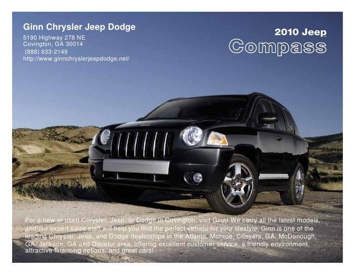 Ginn Chrysler Jeep Dodge 5190 Highway 278 NE                                                                              ...