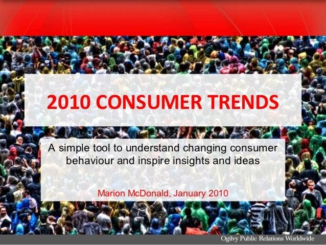 2010 consumer trend tips