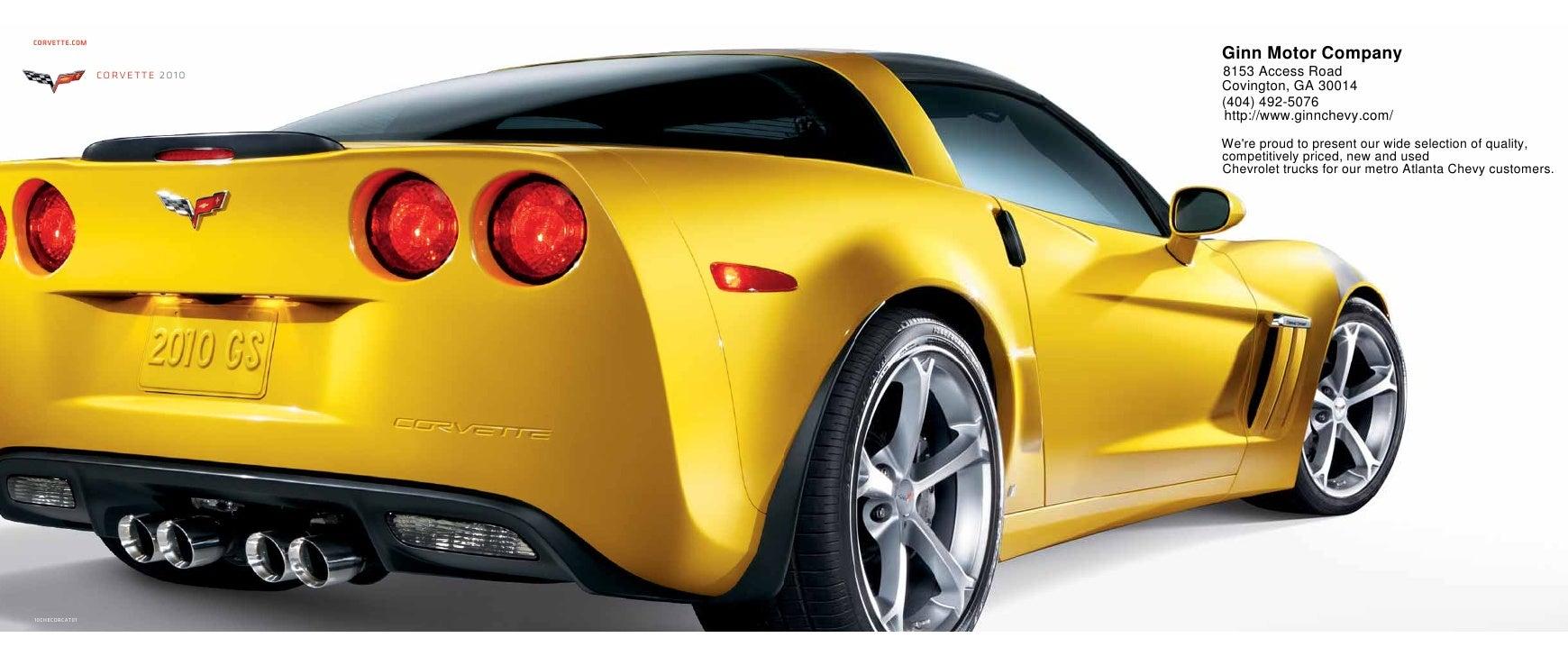 CORVETTE.COM                                 Ginn Motor Company                 corvette 2010   8153 Access Road          ...