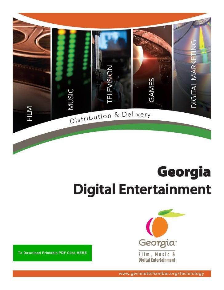 2010 Digital Entertainment Georgia White Paper