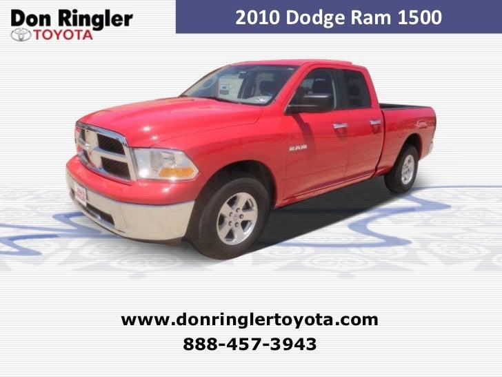 Used 2010 Dodge Ram 1500 at Temple, Austin, Dallas, Houston TX