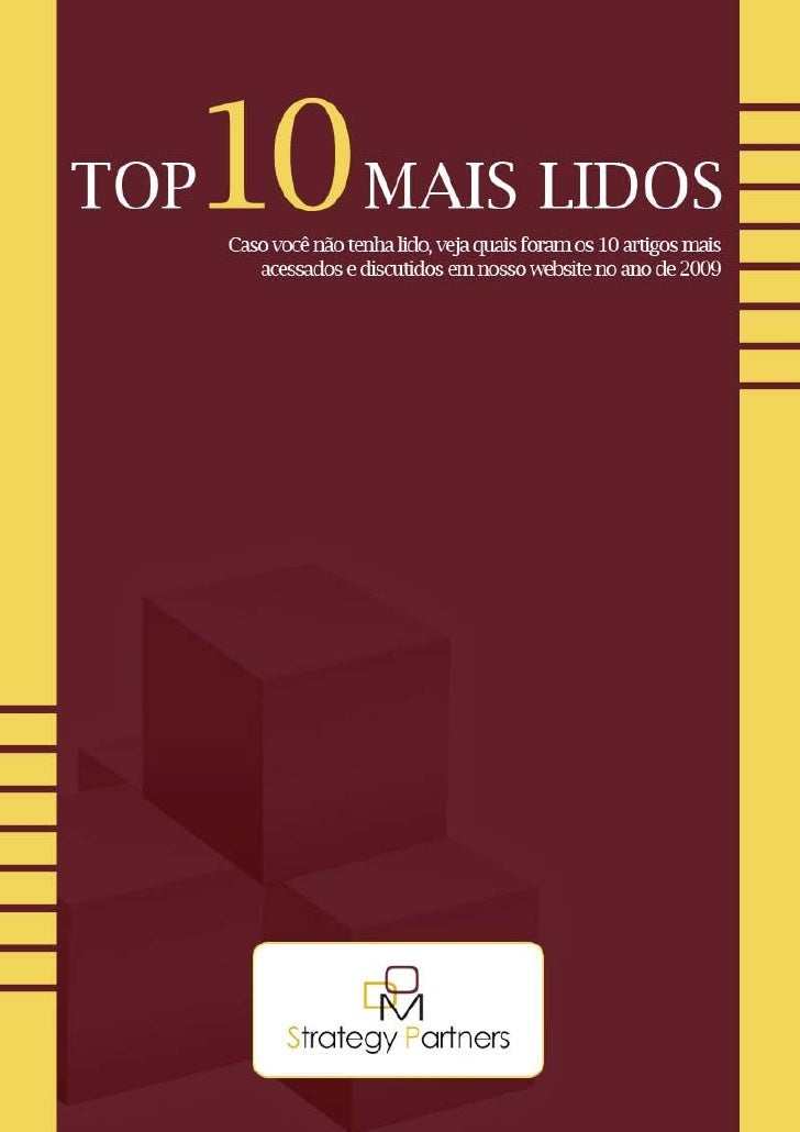 E-Book Top 10 Mais Lidos DOM Strategy Partners 2010