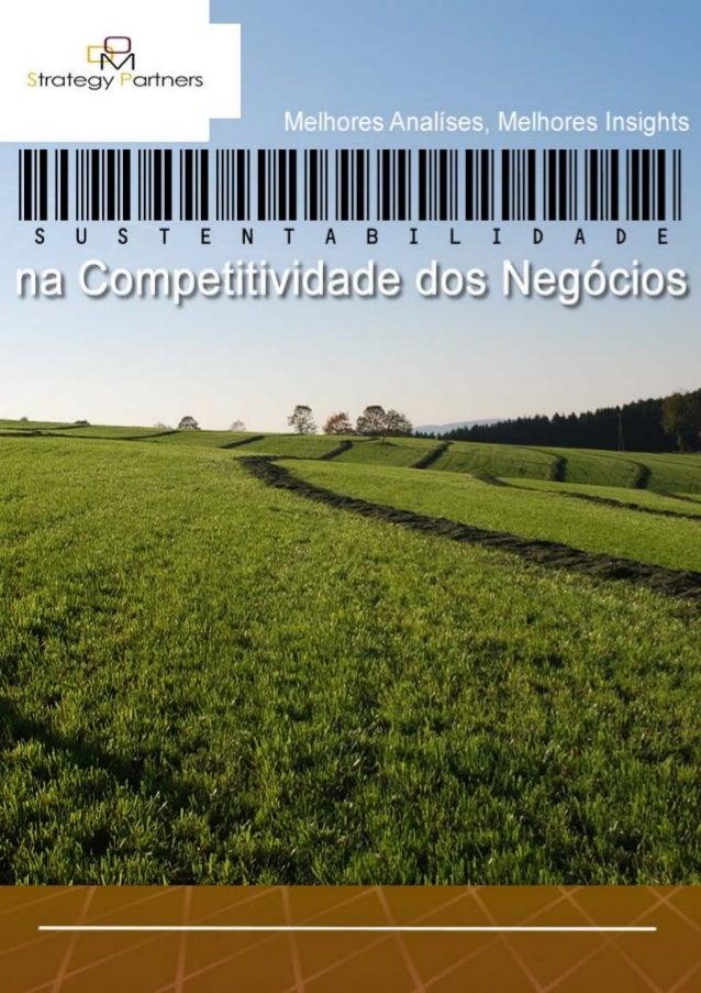 Sustentabilidade na Competitividade dos Negócios- 1