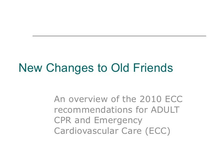 arc guidelines relevant to the provision of cpr