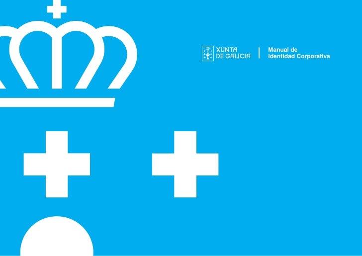 Manual de Identidad Corporativa - Xunta de Galicia