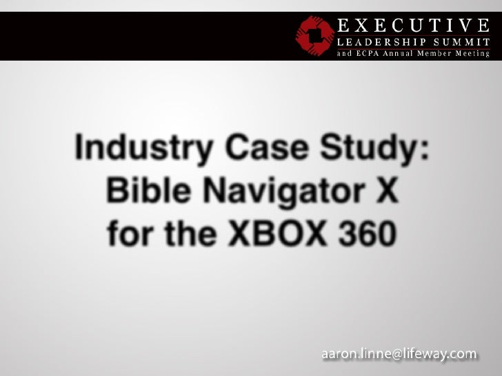 Aaron Linne - How B&H's Bible Navigator Opened the Gospel to Gamers